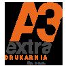 A3extra sp. z o.o. drukarnia tekstylna Logo